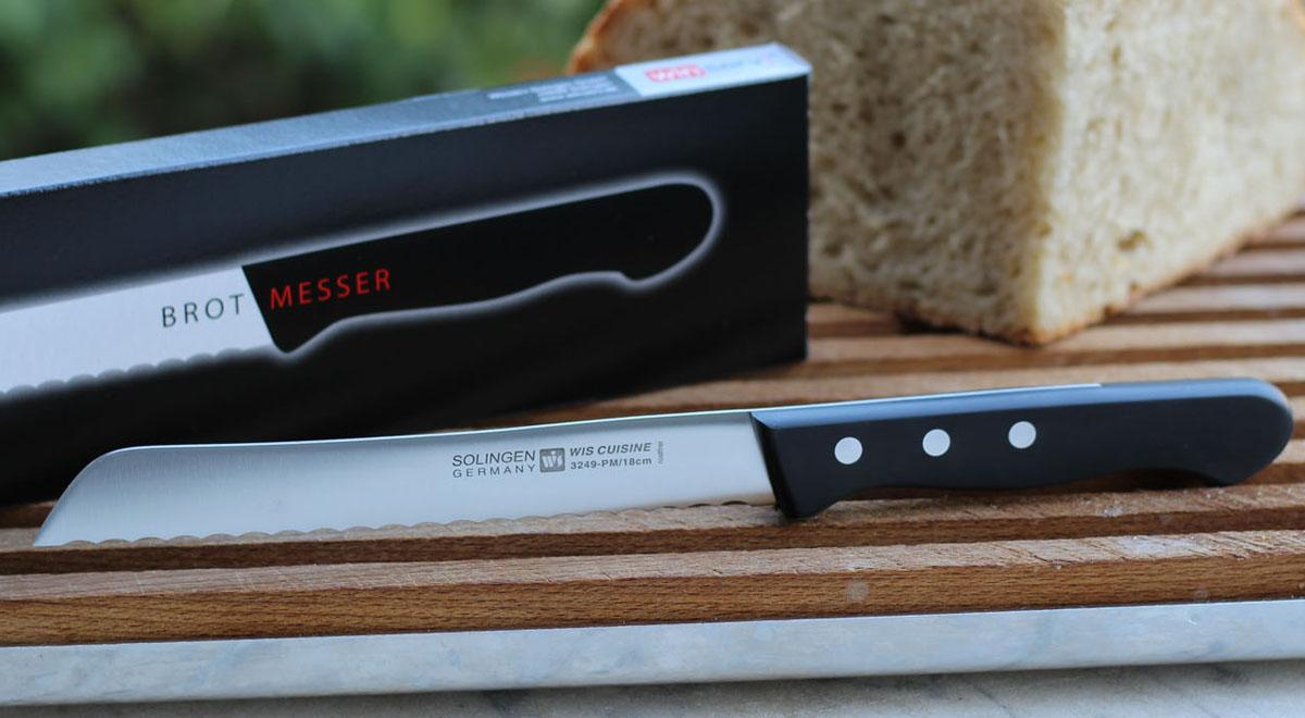 18 cm Brotmesser mit Verpackung 3249